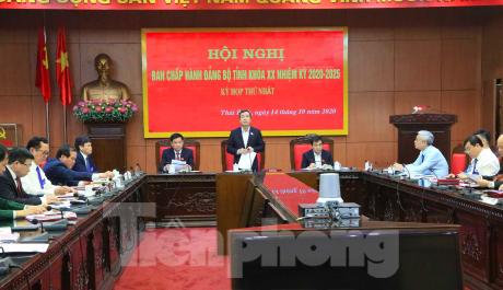 Ông Ngô Đông Hải tái đắc cử Bí thư Tỉnh ủy Thái Bình ảnh 3