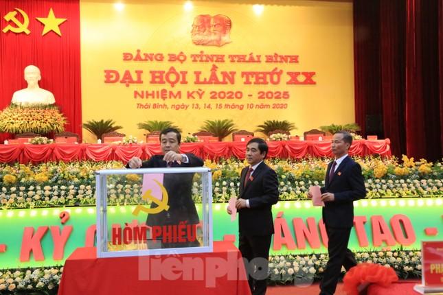 Ông Ngô Đông Hải tái đắc cử Bí thư Tỉnh ủy Thái Bình ảnh 5