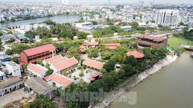 Ai chịu trách nhiệm về loạt công trình sai phạm tại khu sinh thái ven sông Đào? ảnh 2