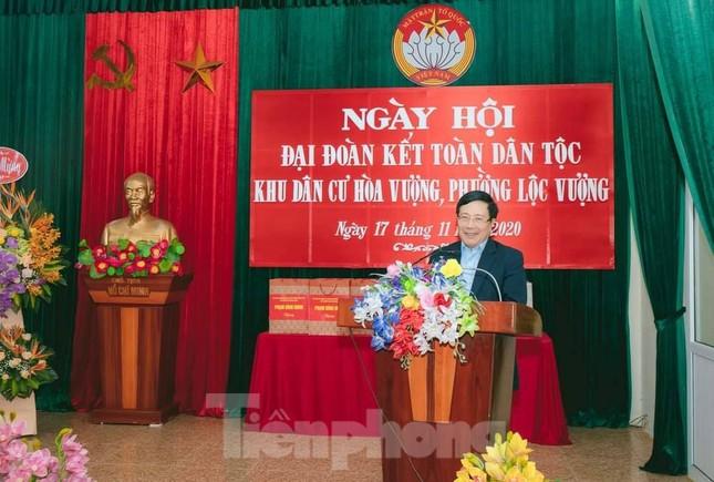 Phó Thủ tướng Phạm Bình Minh dự Ngày hội Đại đoàn kết toàn dân tại Nam Định ảnh 3