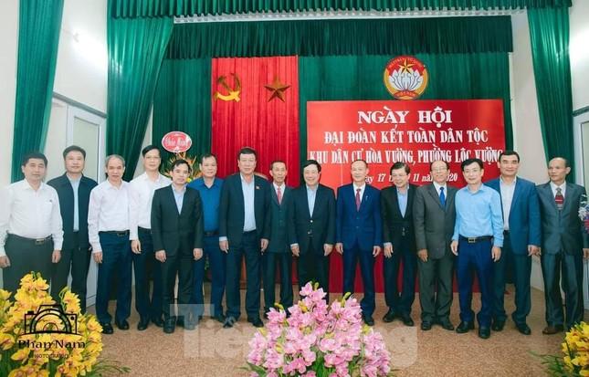 Phó Thủ tướng Phạm Bình Minh dự Ngày hội Đại đoàn kết toàn dân tại Nam Định ảnh 1