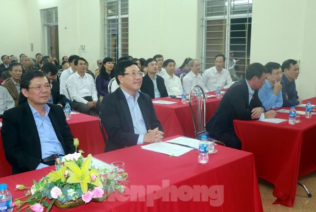 Phó Thủ tướng Phạm Bình Minh dự Ngày hội Đại đoàn kết toàn dân tại Nam Định ảnh 2