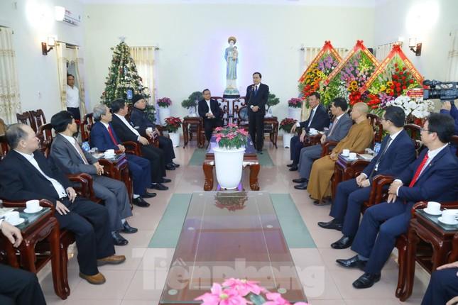 Chủ tịch MTTQ Trần Thanh Mẫn chúc mừng Giáng sinh tại giáo phận Bùi Chu và Thái Bình ảnh 2