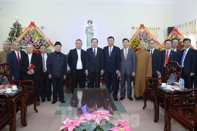 Chủ tịch MTTQ Trần Thanh Mẫn chúc mừng Giáng sinh tại giáo phận Bùi Chu và Thái Bình ảnh 3