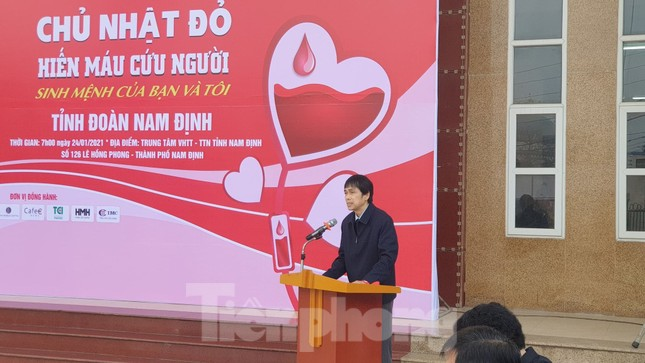 Chủ nhật Đỏ tại Nam Định thu hút hàng ngàn đoàn viên thanh niên ảnh 1