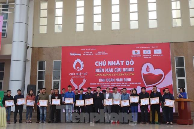 Chủ nhật Đỏ tại Nam Định thu hút hàng ngàn đoàn viên thanh niên ảnh 4