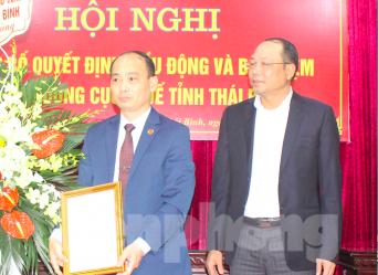 Bổ nhiệm Cục trưởng Cục thuế, Giám đốc Điện lực tỉnh Thái Bình ảnh 1