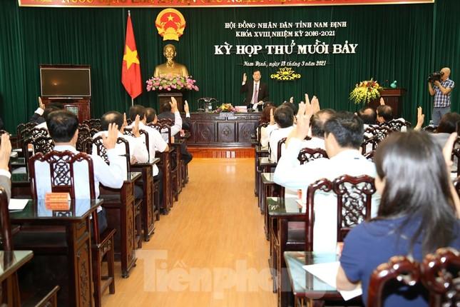 Nam Định bầu bổ sung một Phó Chủ tịch HĐND tỉnh, hai Phó Chủ tịch UBND tỉnh ảnh 2