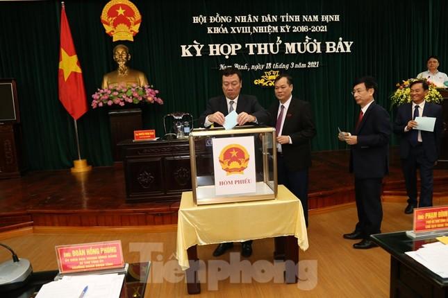 Nam Định bầu bổ sung một Phó Chủ tịch HĐND tỉnh, hai Phó Chủ tịch UBND tỉnh ảnh 1