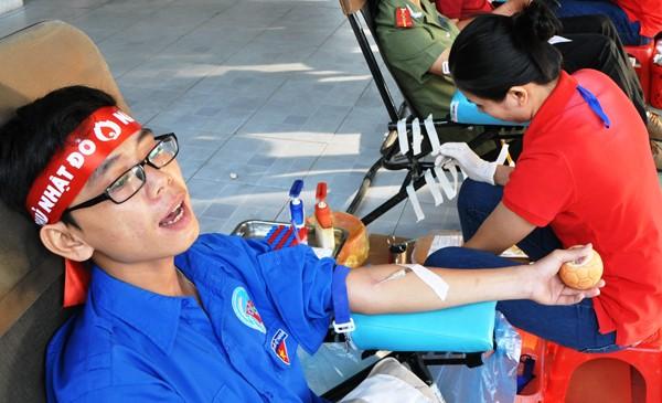 Hơn 8.400 đơn vị máu trong Chủ Nhật Đỏ ảnh 13