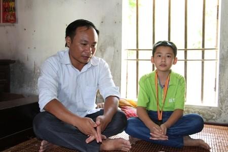 Cậu học trò nghèo giành huy chương Vàng Olympic Toán học ảnh 2