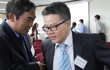 Giáo sư Ngô Bảo Châu cùng cộng sự đối thoại giáo dục ảnh 1