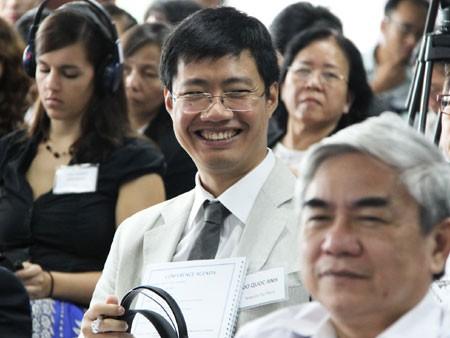 Giáo sư Ngô Bảo Châu cùng cộng sự đối thoại giáo dục ảnh 6