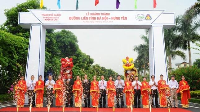 Khánh thành đường liên tỉnh Hà Nội - Hưng Yên ảnh 1