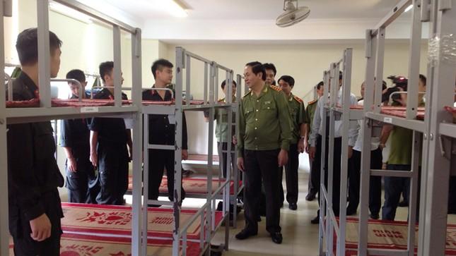 Khánh thành trụ sở của Trung đoàn Cảnh sát cơ động Hà Nội ảnh 4