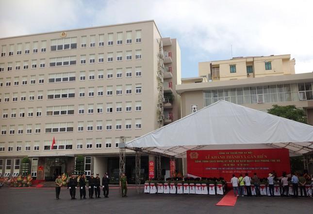Khánh thành trụ sở của Trung đoàn Cảnh sát cơ động Hà Nội ảnh 1