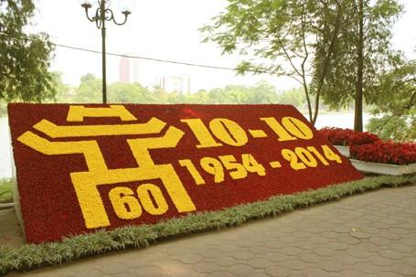 Hà Nội 'khoác áo mới' mừng 60 năm giải phóng ảnh 5
