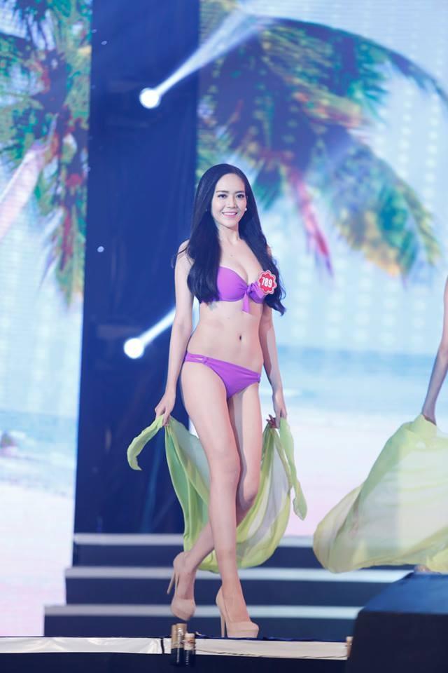 Thí sinh Hoa hậu phía Nam quyến rũ trong phần thi áo tắm ảnh 13