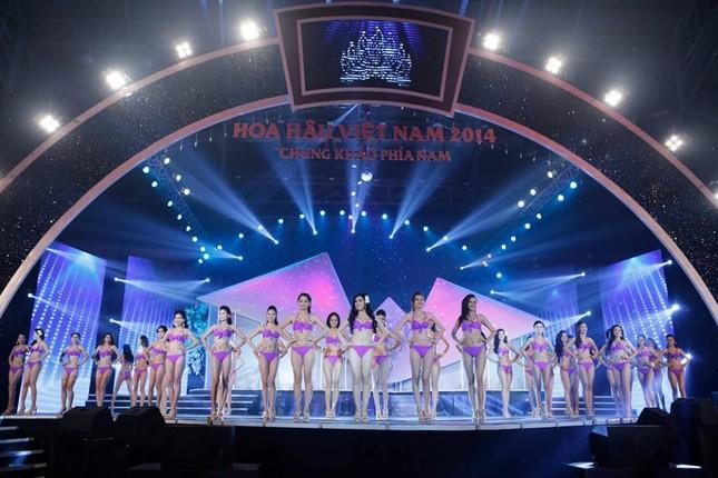 Thí sinh Hoa hậu phía Nam quyến rũ trong phần thi áo tắm ảnh 14