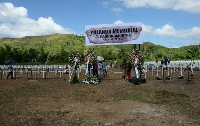 Philippines tưởng niệm 1 năm sau thảm họa bão Haiyan ảnh 1