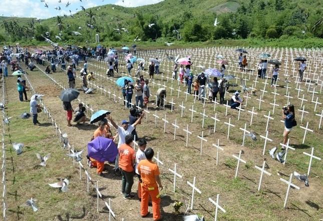 Philippines tưởng niệm 1 năm sau thảm họa bão Haiyan ảnh 2