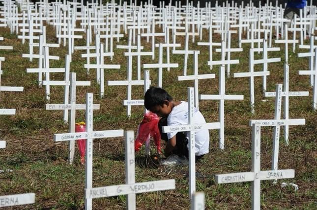 Philippines tưởng niệm 1 năm sau thảm họa bão Haiyan ảnh 5