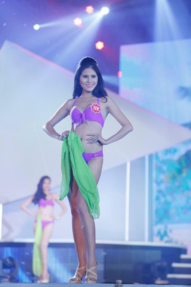 Thí sinh Hoa hậu phía Nam quyến rũ trong phần thi áo tắm ảnh 8