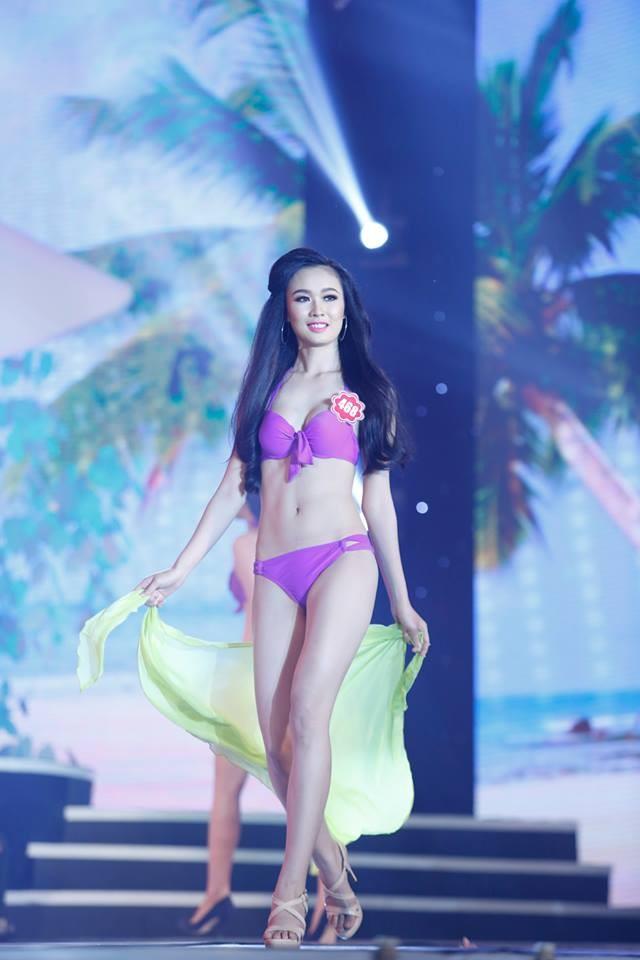 Thí sinh Hoa hậu phía Nam quyến rũ trong phần thi áo tắm ảnh 10