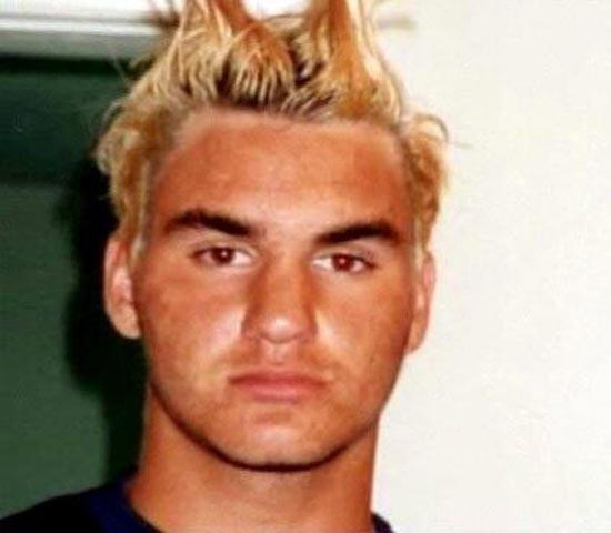 Bật mí thời niên thiếu của Roger Federer ảnh 1