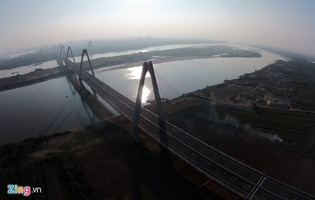 [ẢNH] Cầu Nhật Tân, đường Võ Nguyên Giáp trước ngày thông xe ảnh 10