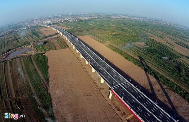 [ẢNH] Cầu Nhật Tân, đường Võ Nguyên Giáp trước ngày thông xe ảnh 11