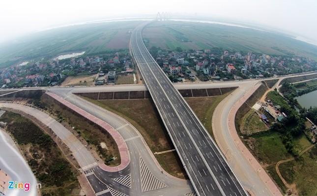 [ẢNH] Cầu Nhật Tân, đường Võ Nguyên Giáp trước ngày thông xe ảnh 12