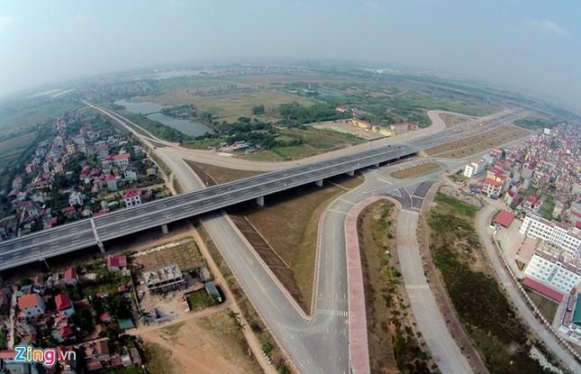 [ẢNH] Cầu Nhật Tân, đường Võ Nguyên Giáp trước ngày thông xe ảnh 13