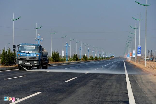 [ẢNH] Cầu Nhật Tân, đường Võ Nguyên Giáp trước ngày thông xe ảnh 20