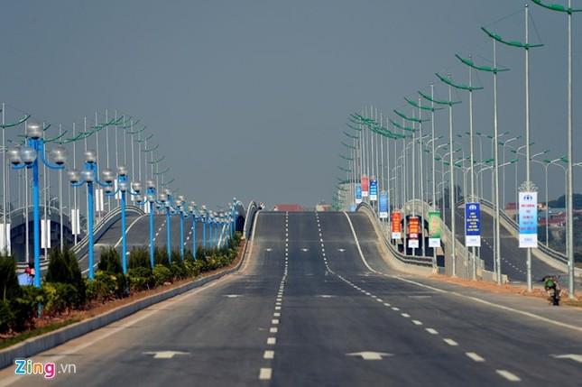 [ẢNH] Cầu Nhật Tân, đường Võ Nguyên Giáp trước ngày thông xe ảnh 21