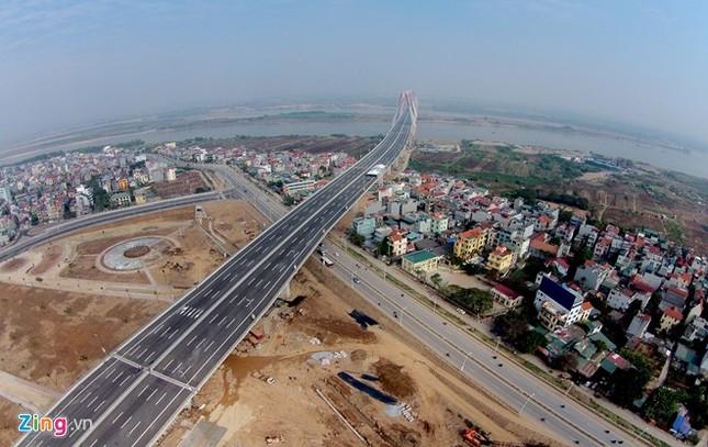 [ẢNH] Cầu Nhật Tân, đường Võ Nguyên Giáp trước ngày thông xe ảnh 3