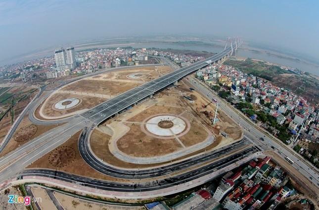 [ẢNH] Cầu Nhật Tân, đường Võ Nguyên Giáp trước ngày thông xe ảnh 4