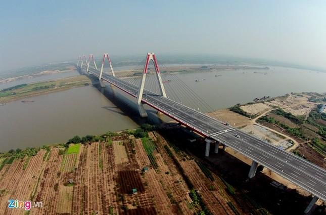 [ẢNH] Cầu Nhật Tân, đường Võ Nguyên Giáp trước ngày thông xe ảnh 5