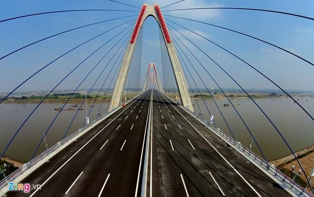[ẢNH] Cầu Nhật Tân, đường Võ Nguyên Giáp trước ngày thông xe ảnh 6