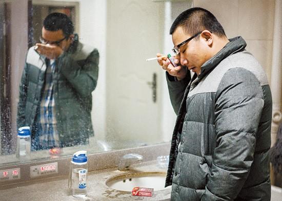 Sinh viên Trung Quốc ôn thi trắng đêm trong phòng tự học ảnh 2