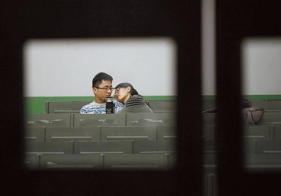 Sinh viên Trung Quốc ôn thi trắng đêm trong phòng tự học ảnh 6