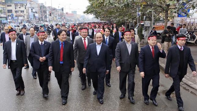 Phó Thủ tướng Nguyễn Xuân Phúc đồng hành cùng Chủ nhật Đỏ ảnh 5