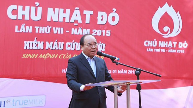 Phó Thủ tướng Nguyễn Xuân Phúc đồng hành cùng Chủ nhật Đỏ ảnh 8