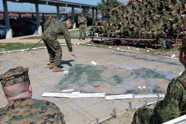 Mục kích lính Mỹ - Nhật Bản tập trận Iron Fist 2015 ảnh 3
