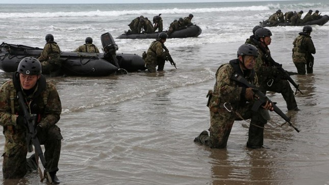 Mục kích lính Mỹ - Nhật Bản tập trận Iron Fist 2015 ảnh 5