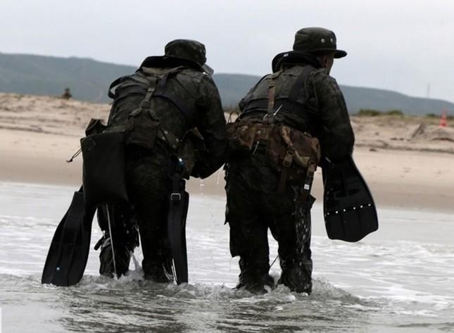 Mục kích lính Mỹ - Nhật Bản tập trận Iron Fist 2015 ảnh 7