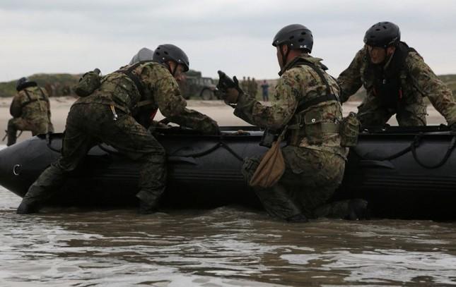 Mục kích lính Mỹ - Nhật Bản tập trận Iron Fist 2015 ảnh 9