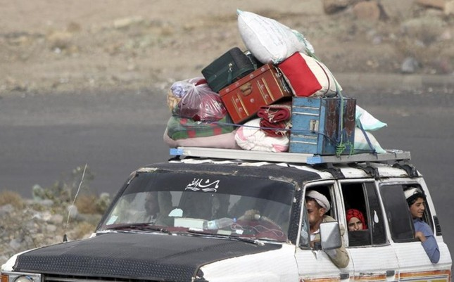 Yemen hoang tàn sau những cuộc không kích phiến quân ảnh 6