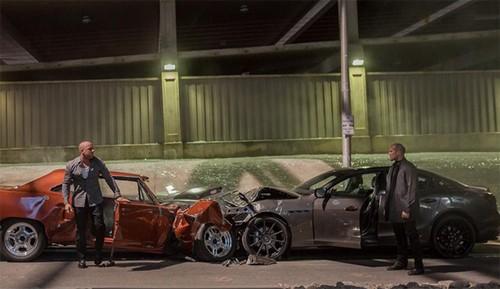 Ôtô bị phá hủy trong 'Fast and Furious 7' đi về đâu? ảnh 1