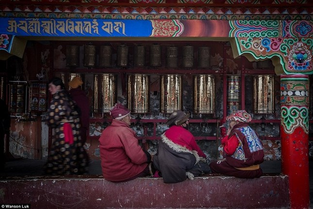 Nhìn gần học viện Phật giáo lớn nhất thế giới ảnh 9